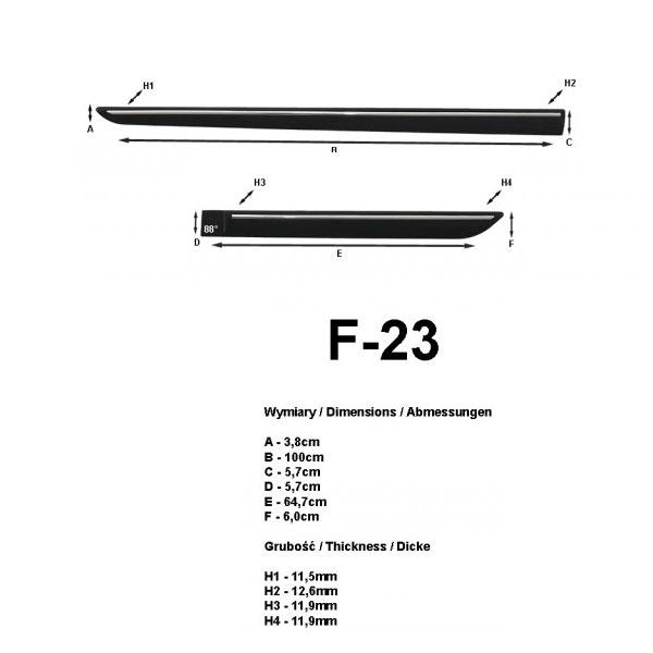 baguettes lat rales de protection ds4 5 portes 2011. Black Bedroom Furniture Sets. Home Design Ideas