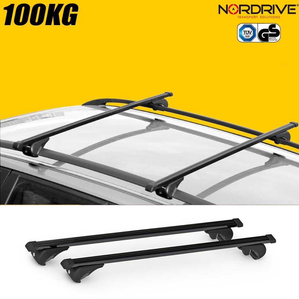 barres de toit kia sportage 5 portes nordrive rail top. Black Bedroom Furniture Sets. Home Design Ideas