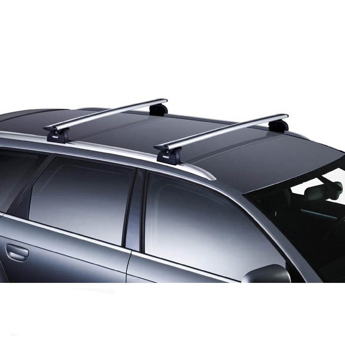 barres de toit thule pour peugeot 5008 5 portes a partir de 2009 barre de toit wingbar aluminium. Black Bedroom Furniture Sets. Home Design Ideas