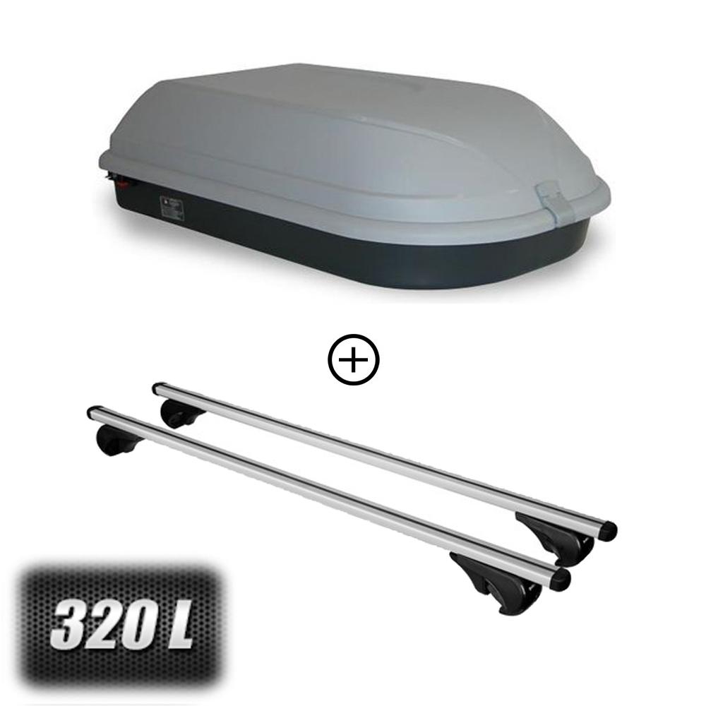 coffre de toit classic 320 litres barres de toit renault. Black Bedroom Furniture Sets. Home Design Ideas