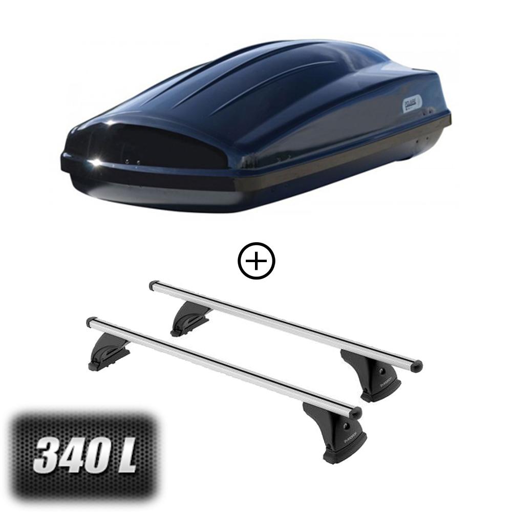 coffre de toit voyager 340 litres barres de toit citroen c8 5 portes a partir de 2002. Black Bedroom Furniture Sets. Home Design Ideas