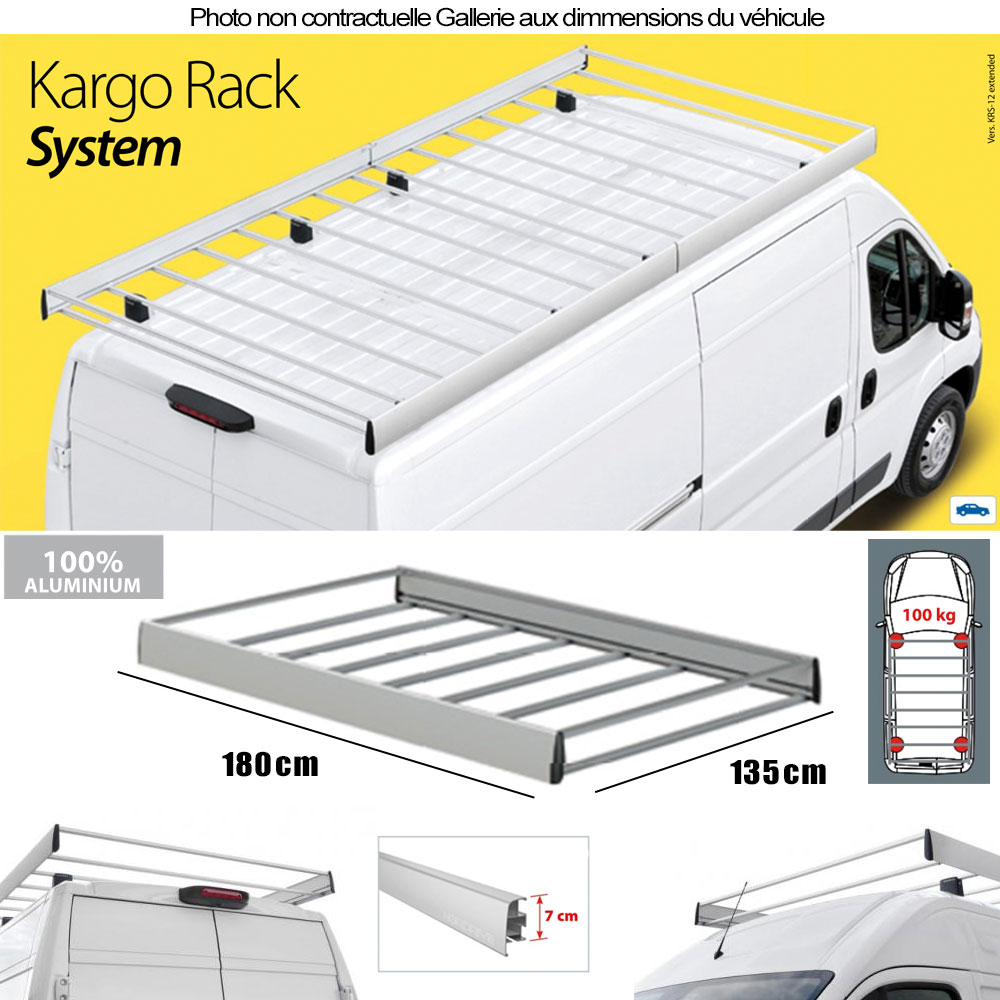 galerie de toit citroen berlingo chassis l1 avec girafon. Black Bedroom Furniture Sets. Home Design Ideas