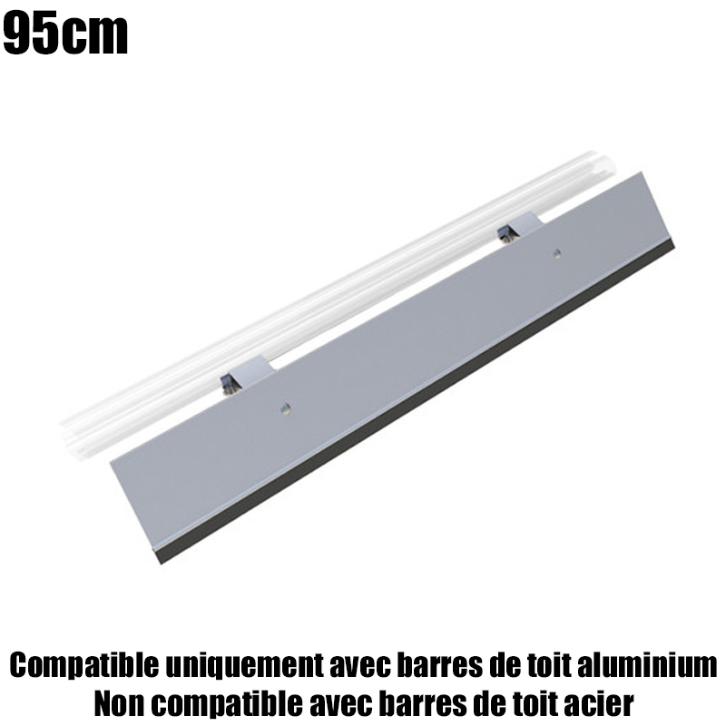 deflecteur de toit 95cm pour barres de toit aluminium. Black Bedroom Furniture Sets. Home Design Ideas